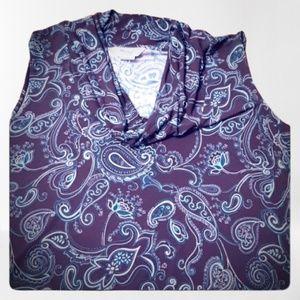 Womens Plus Size Cowl Neck Dress Tank